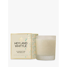 Buy Heyland & Whittle Clementine & Prosecco Candle Online at johnlewis.com