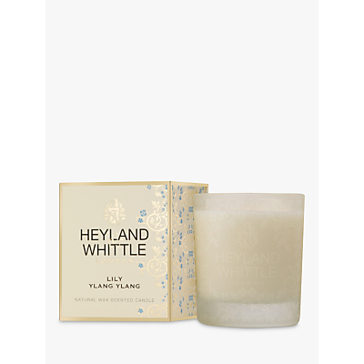 Heyland & Whittle Lily Ylag Ylang Candle