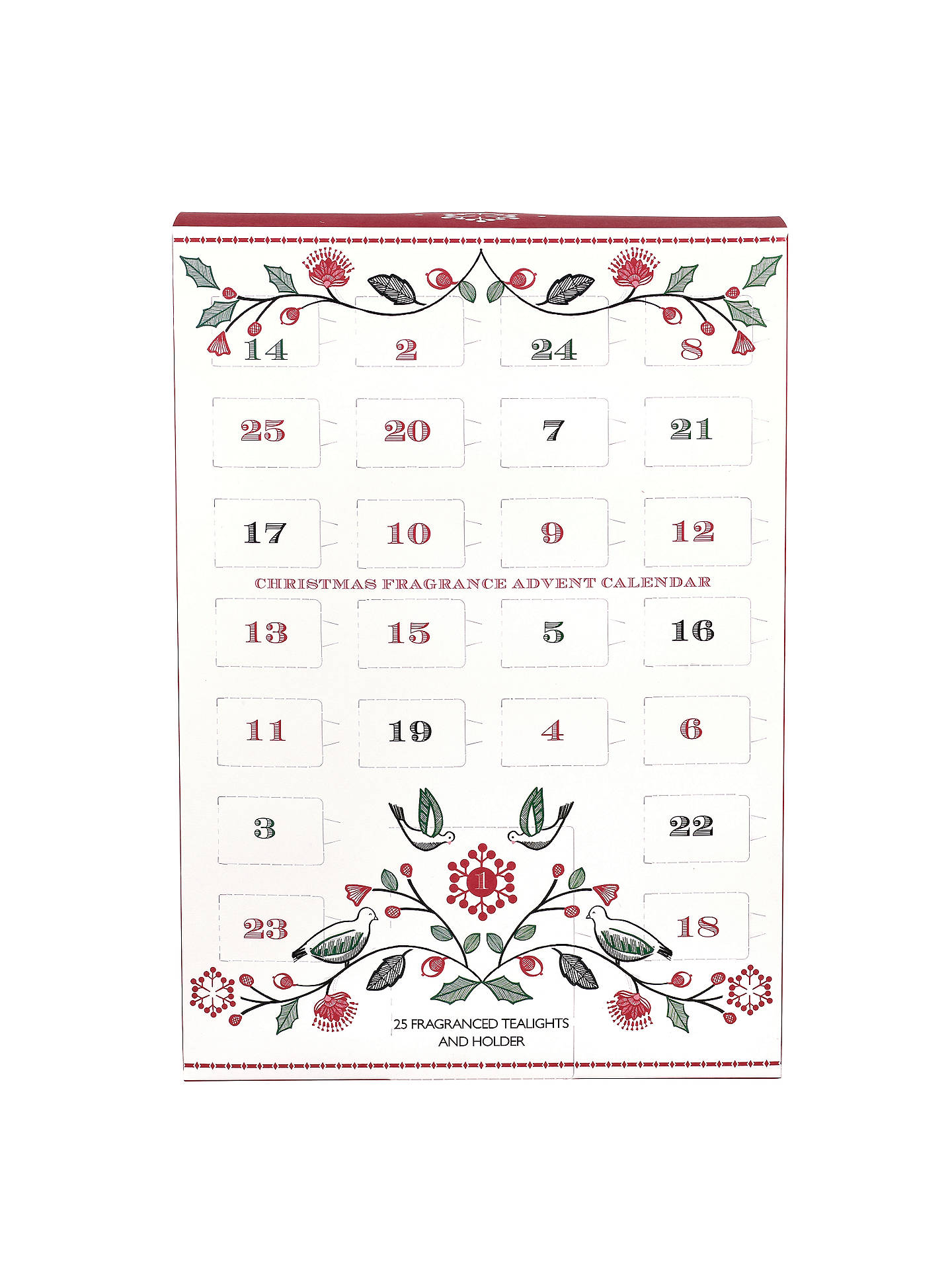BuyJohn Lewis Christmas Tealight Advent Calendar Online at johnlewis.com