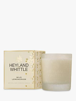 Heyland & Whittle Wild lemongrass Scented Candle