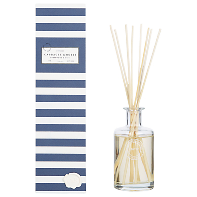 Cabbages & Roses Cedarwood and Spice Diffuser, 200ml