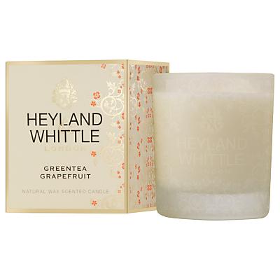 Heyland & Whittle Greentea grapefruit Candle