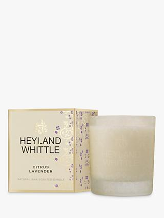 Heyland & Whittle Citrus Lavender Scented Candle