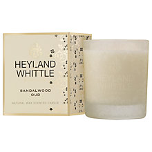 Buy Heyland & Whittle Sandalwood & Oud Candle Online at johnlewis.com