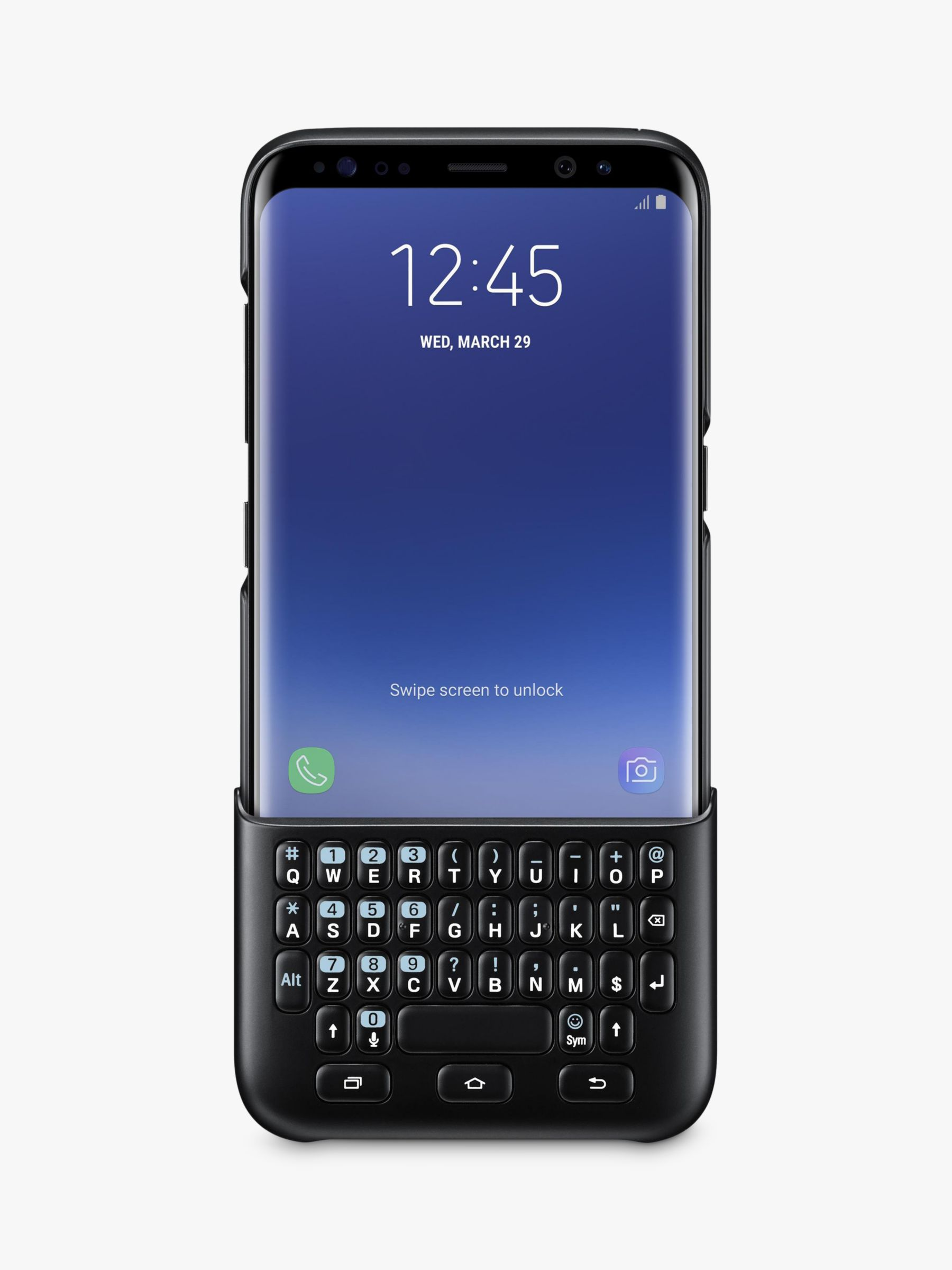 d591b7bb240 Samsung Galaxy S8 Keyboard Cover at John Lewis & Partners