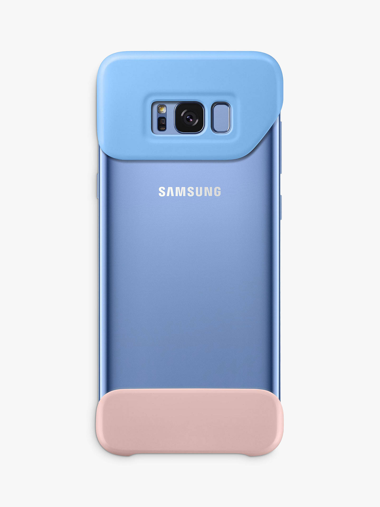 Buy Samsung Galaxy S8 Plus Pop Cover, Blue Online at johnlewis.com