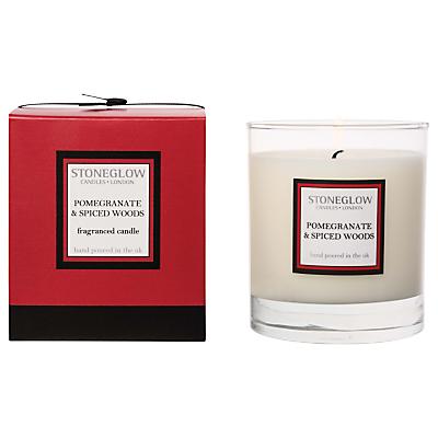 Stoneglow Modern Classics Pomegranate & Spice Candle