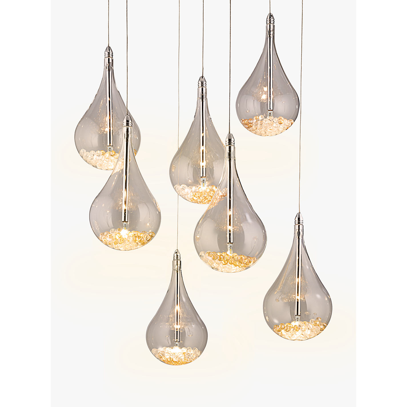 Buy john lewis sebastian 7 light led ceiling light chrome john buy john lewis sebastian 7 light led ceiling light chrome online at johnlewis aloadofball Gallery