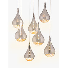 Buy John Lewis Sebastian 7 Light LED Ceiling Light, Chrome Online at johnlewis.com