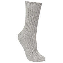 Buy John Lewis Cashmere Bed Socks, One Size Online at johnlewis.com