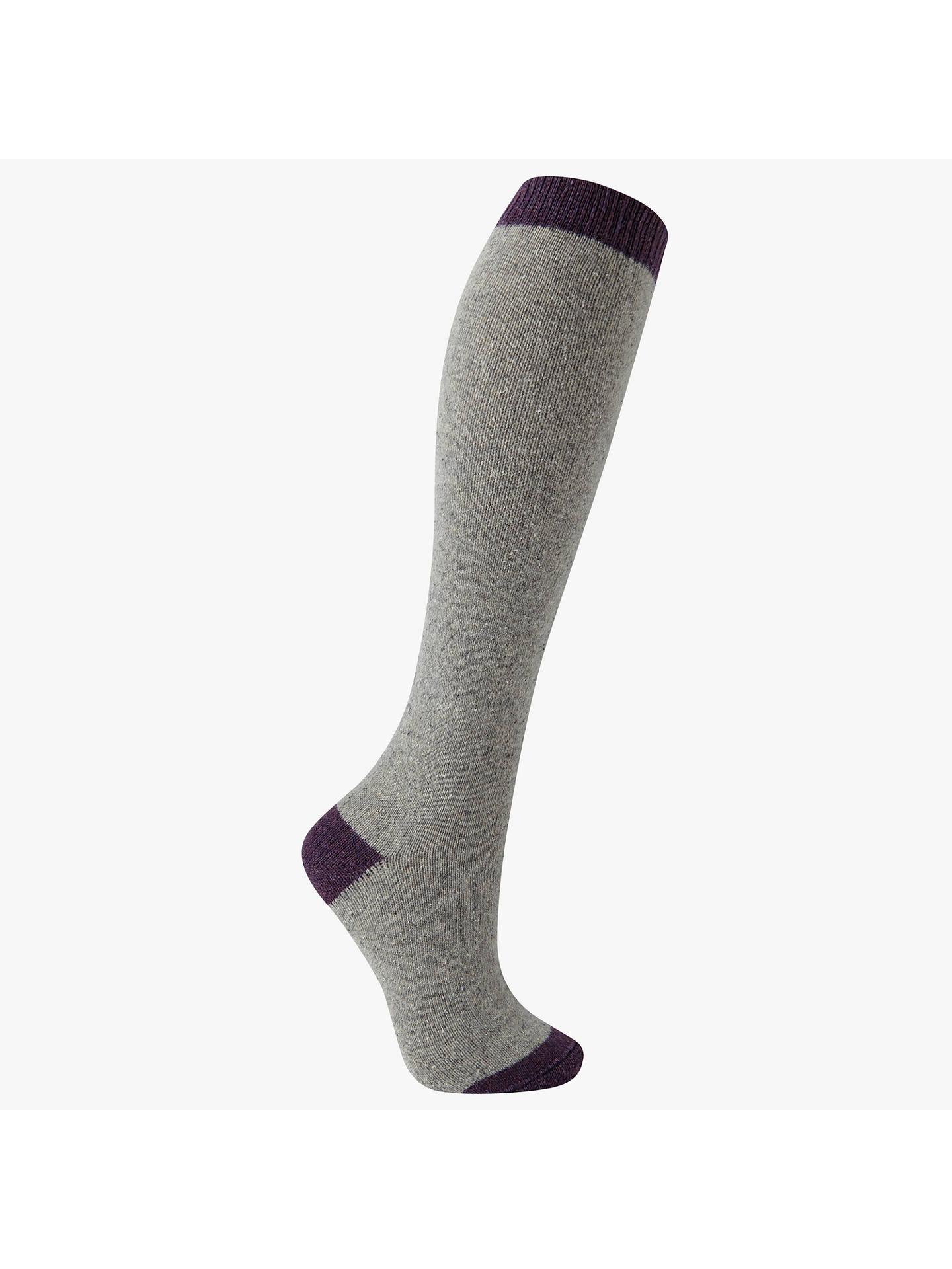 624c0a08cb4 Buy John Lewis Wool and Silk Blend Knee High Socks