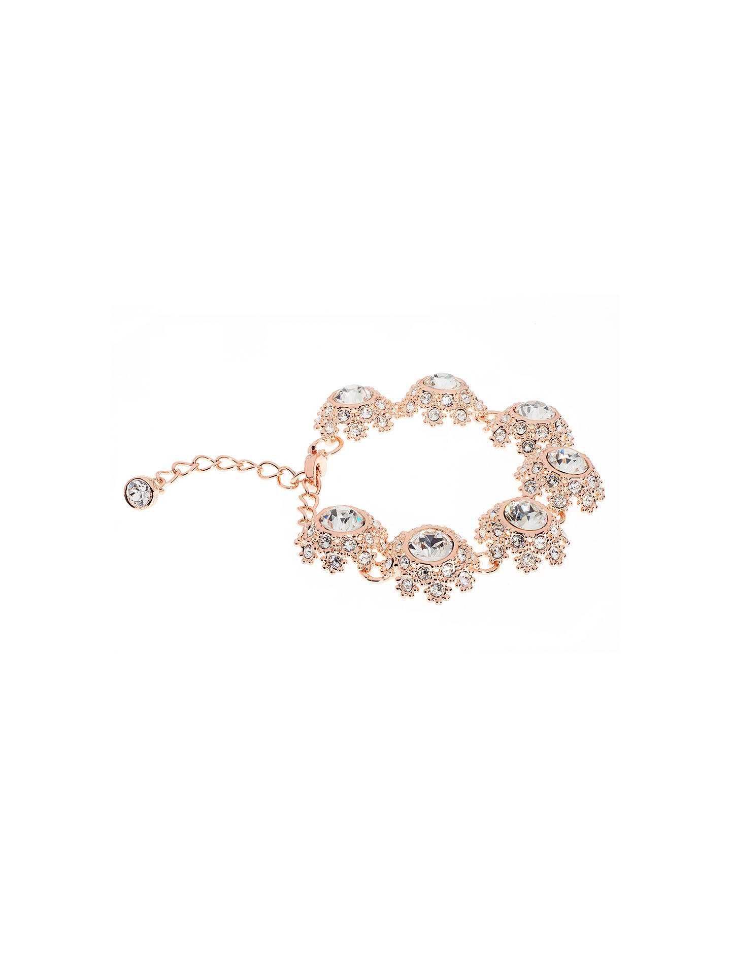 4e8bf067a Ted Baker Seah Swarovski Crystal Daisy Lace Bracelet at John Lewis ...