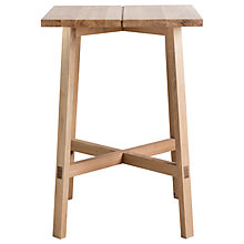 Buy Hudson Living Kielder Bar Table, Oak Online at johnlewis.com