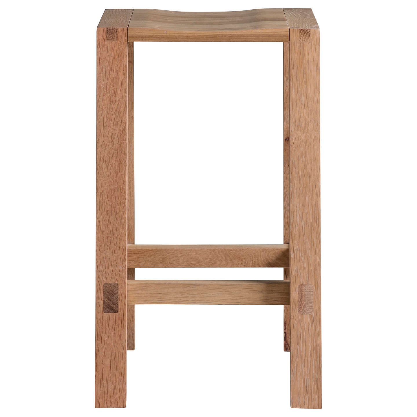 Hudson Living Kielder Bar Stool, Oak at John Lewis