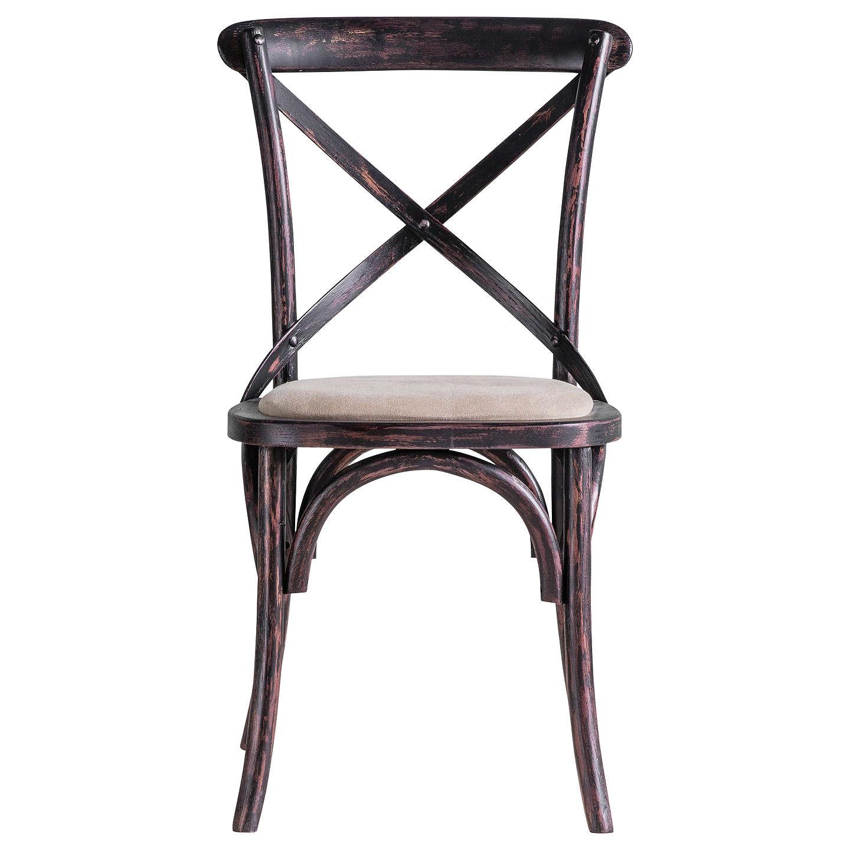 BuyHudson Living Kielder Cafe Chairs, Set Of 2, Black Online At  Johnlewis.com ...