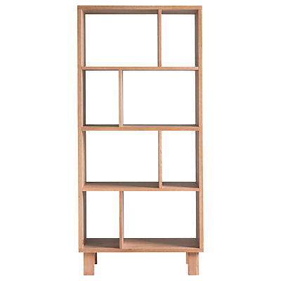Hudson Living Kielder Open Display Cabinet, Oak