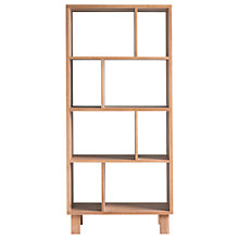 Buy Hudson Living Kielder Open Display Cabinet, Oak Online at johnlewis.com