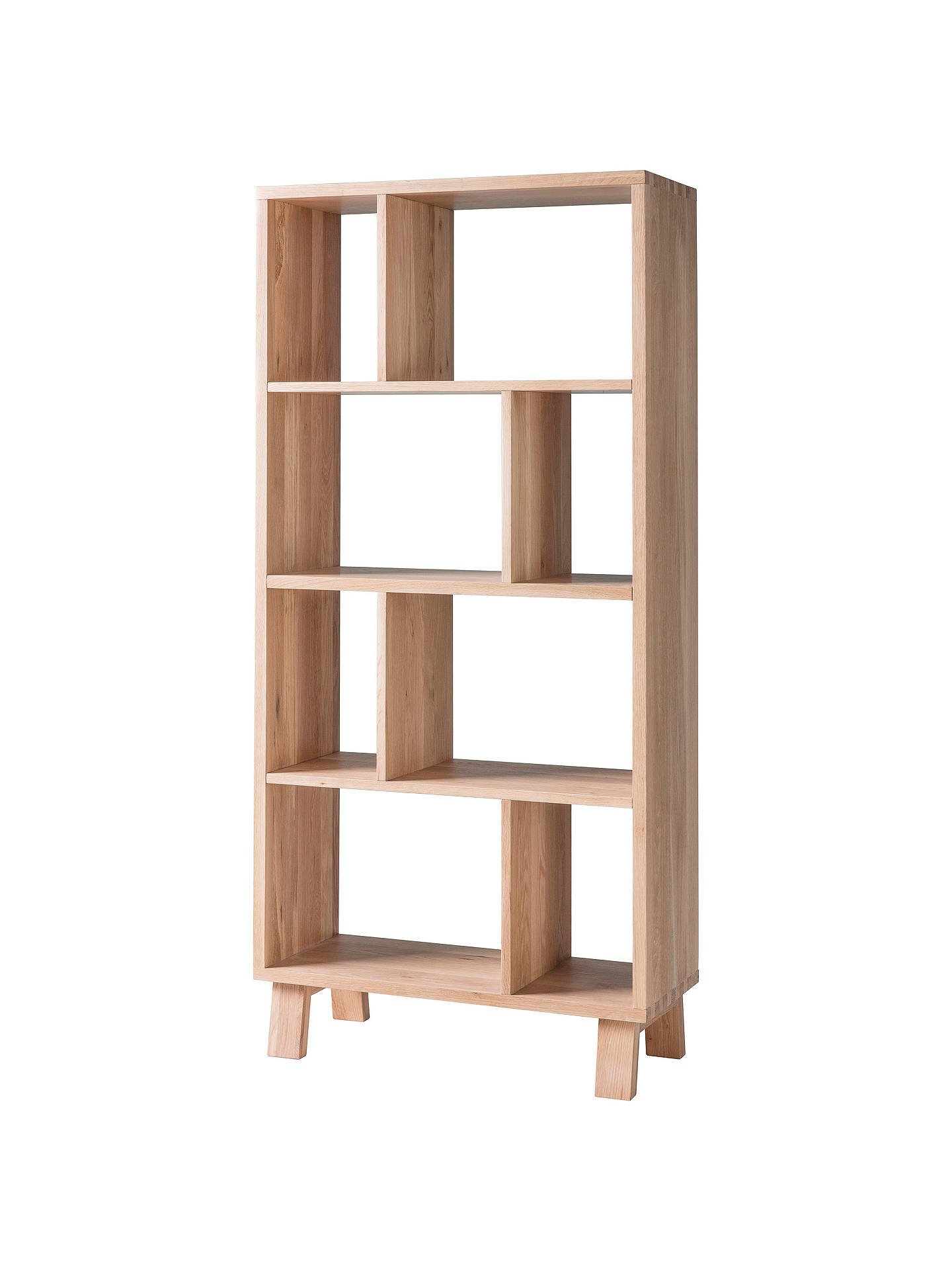 BuyHudson Living Kielder Open Display Cabinet, Oak Online At Johnlewis.com  ...