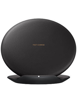 Buy Samsung Wireless Charger Stand for Galaxy S8/S8 Plus, Black Online at johnlewis.com