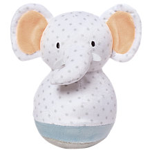 Buy Manhattan Toy Playtime Elephant Roly Poly Plush Soft Toy Online at johnlewis.com