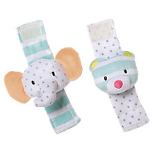 Buy Manhattan Toy Playtime Wrist Rattle Set Online at johnlewis.com