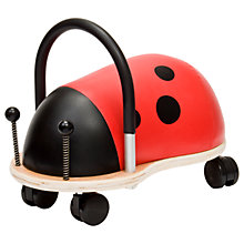Buy Hippychick Ladybird Wheely Bug Ride-On Online at johnlewis.com