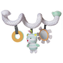 Buy Manhattan Toy Playtime Plush Bear Activity Spiral Soft Toy Online at johnlewis.com