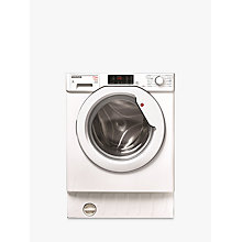 Buy Hoover HBWD7514DA Integrated Washer Dryer, 7kg Wash/5kg Dry Load, A Energy Rating, 1400rpm Spin, White Online at johnlewis.com