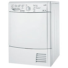 Buy Indesit IDCL85BH Condenser Tumble Dryer, 8kg Load, B Energy Rating, White Online at johnlewis.com