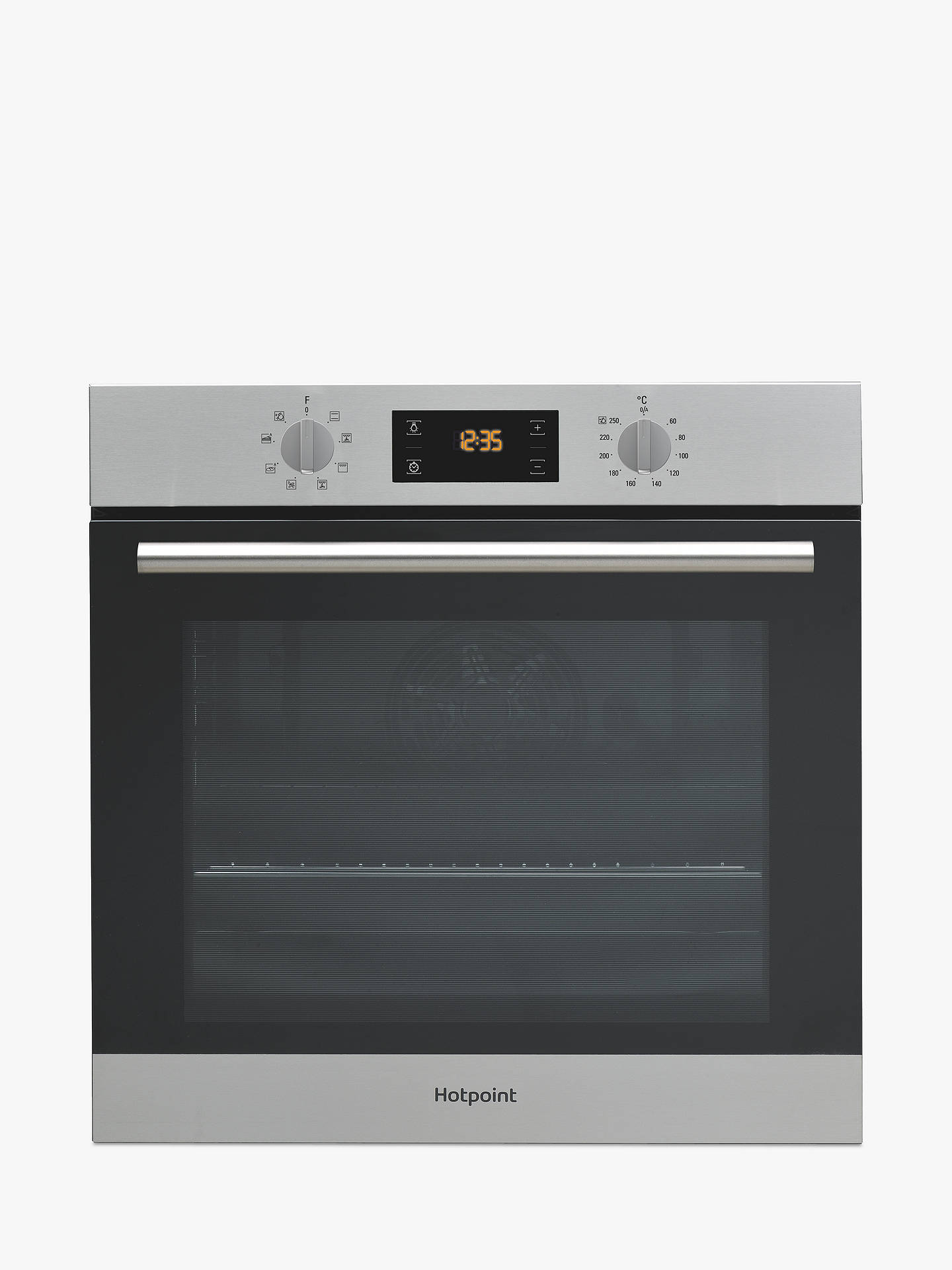 hotpoint sa2540hix built in electric single oven. Black Bedroom Furniture Sets. Home Design Ideas