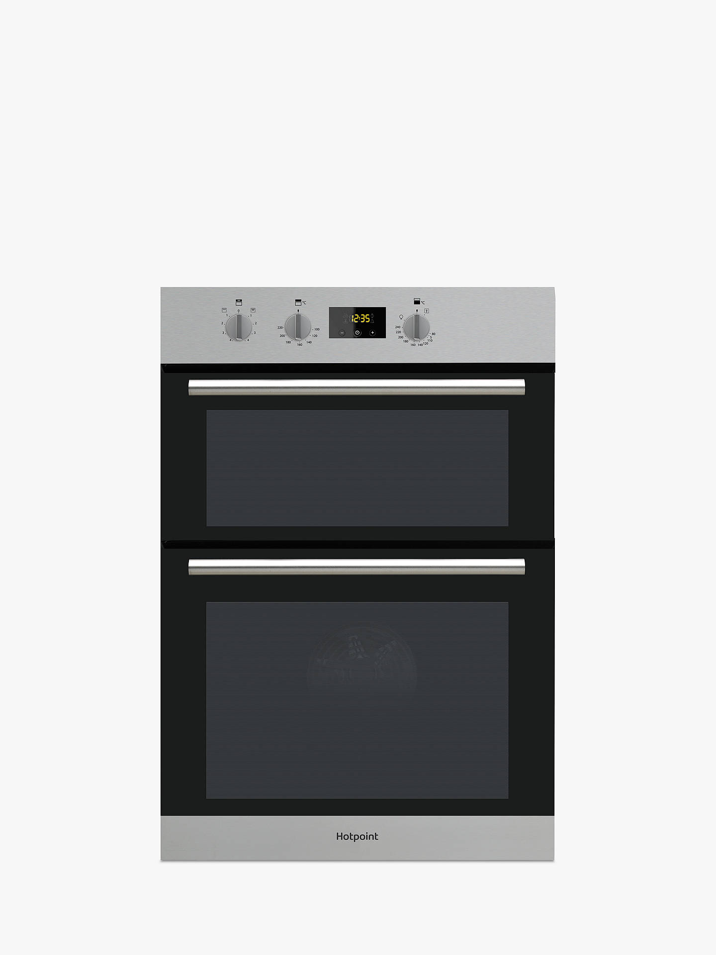hotpoint dd2540 built in double oven at john lewis partners. Black Bedroom Furniture Sets. Home Design Ideas