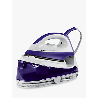 Tefal Fasteo SV6020 Steam Generator Iron, Purple/White