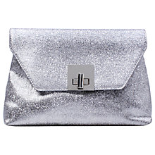 Buy Carvela Goa Matchbag Clutch Bag, Silver Online at johnlewis.com