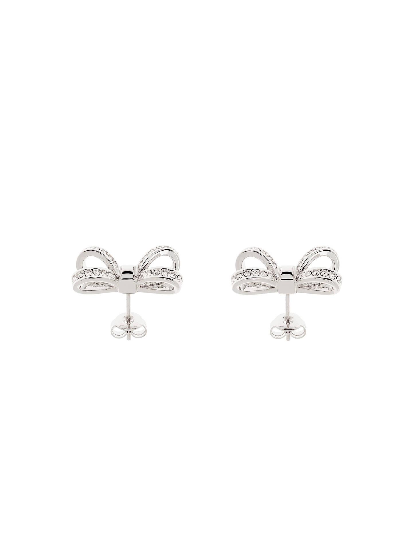 e09c5b418550 ... Buy Ted Baker Olitta Mini Pave Swarovski Crystal Bow Stud Earrings