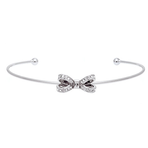 Buy Ted Baker Olexii Swarovski Crystal Bow Cuff Online at johnlewis.com