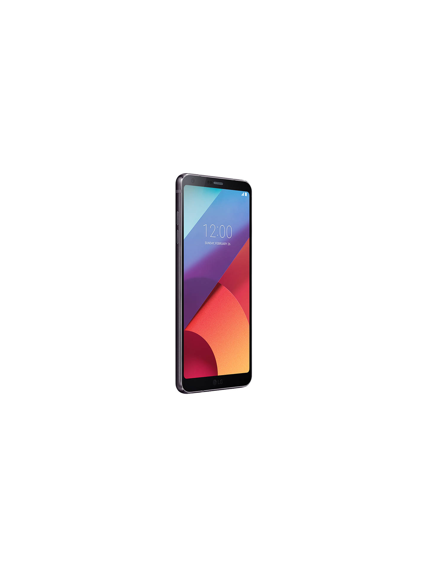 "Buy LG G6 Astro Smartphone, Android, 5.7"", 4G LTE, SIM Free, 32GB, Black Online at johnlewis.com"