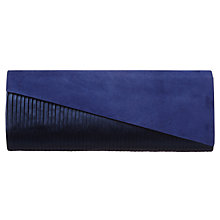 Buy Phase Eight Carey Clutch Bag, Cobalt Online at johnlewis.com