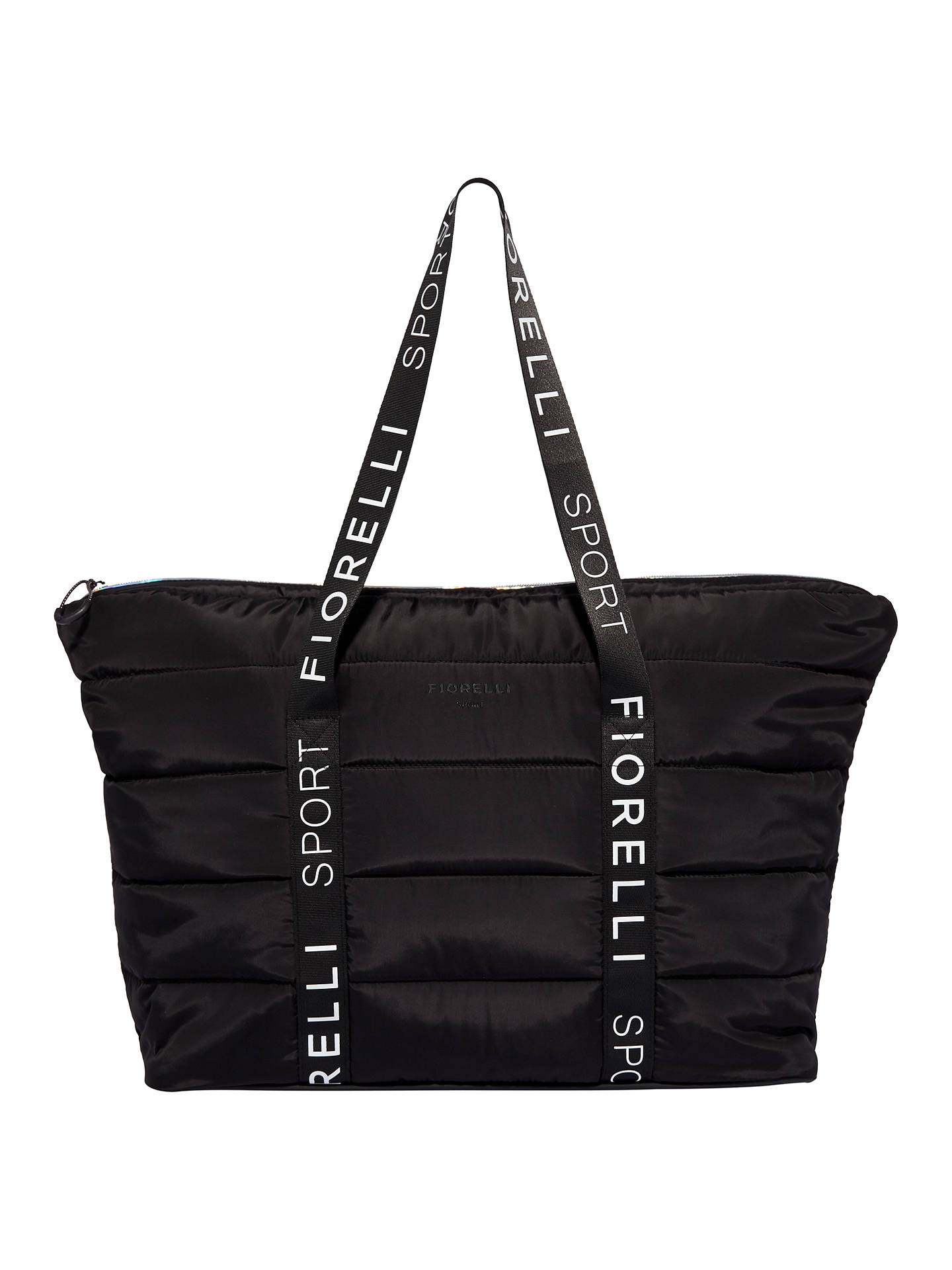 BuyFiorelli Sport Flash Puffer Tote Bag, Black Online at johnlewis.com
