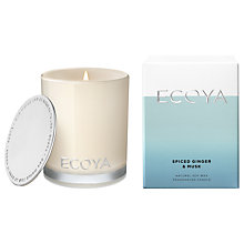 Buy Ecoya Spiced Ginger Mini Candle Online at johnlewis.com