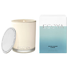 Buy Ecoya Spiced Ginger & Musk Candle Online at johnlewis.com