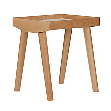 Buy House by John Lewis Bow Side Table with Removable Tray Online at johnlewis.com