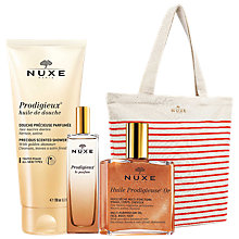Buy NUXE Shimmering Dry Oil Huile Prodigieuse® Or and Golden Shimmer Shower Gel with Gift Online at johnlewis.com