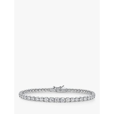 Jools by Jenny Brown Cubic Zirconia Tennis Bracelet, Silver