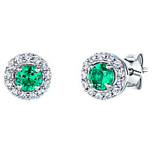 Buy Jools by Jenny Brown Circular Cubic Zirconia Stud Earrings Online at johnlewis.com
