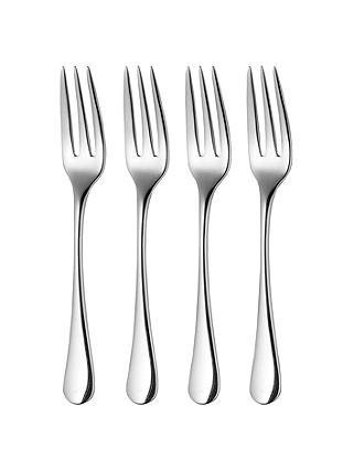 Buy Robert Welch Radford 'Time For Tea' Pastry Forks, Set of 4, Stainless Steel Online at johnlewis.com