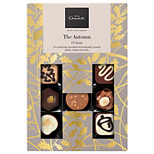 Buy Hotel Chocolat Autumn Chocolates H Box, Box of 14, 180g Online at johnlewis.com