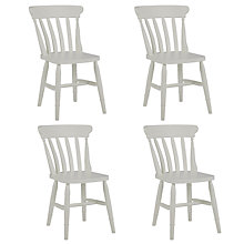 Buy John Lewis Croft Collection Ffion Chair, Set of 4, Cool Grey Online at johnlewis.com