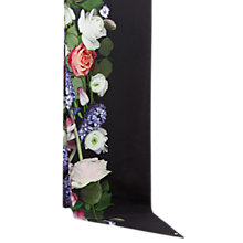 Buy Ted Baker Konni Kensington Floral Skinny Scarf, Black/Multi Online at johnlewis.com