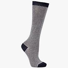Buy John Lewis Feeder Stripe Knee High Socks Online at johnlewis.com