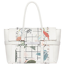 Buy Fiorelli Barbican Large Flapover Patterned Tote Bag Online at johnlewis.com